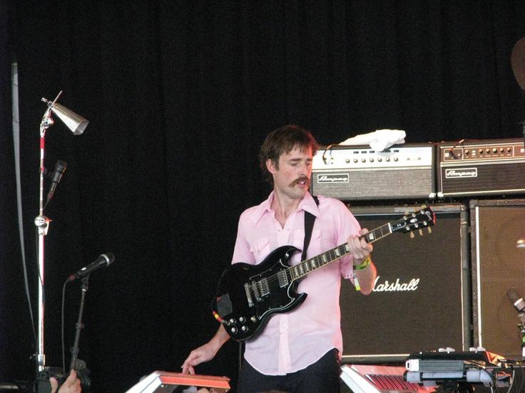 Math-rockers Battles played a danceable set at Bonnaroo.