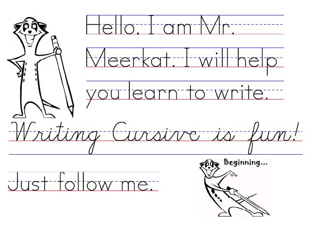 how to write in cursive for kids The paperback of the drawing for kids with cursive letters in easy steps abc: cartooning for kids and learning how to draw with the cursive alphabet by.