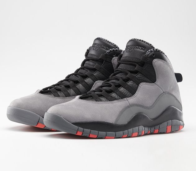 Air Jordan X  C Cool Grey