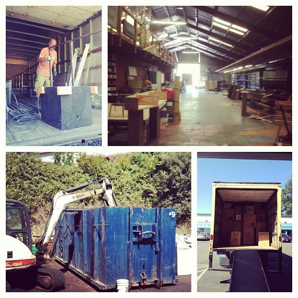 Every theatre needs tons of storage. We moved into our new, larger warehouse in 2013. Thank you to all our volunteers who helped us out on the big day.