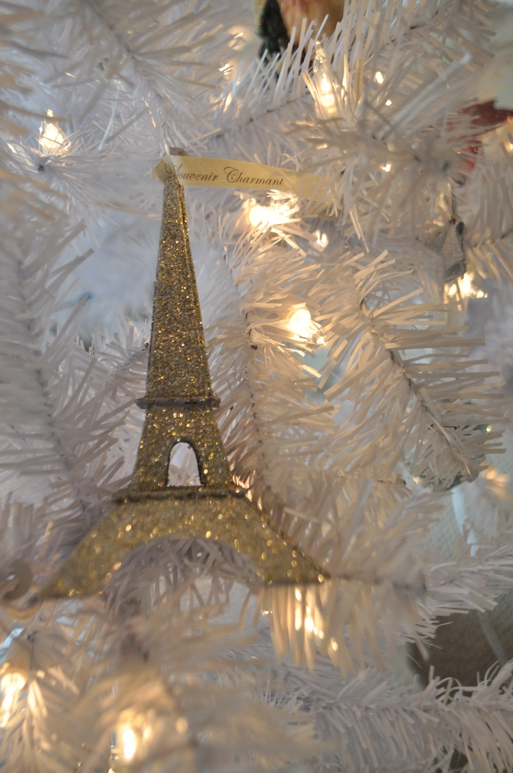 Eiffel tower christmas tree ornament - Alexis Would Love An Eiffel Tower Ornament I M Going To Have To Get