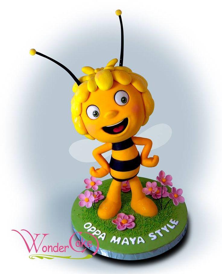 Пчела картинка на торт