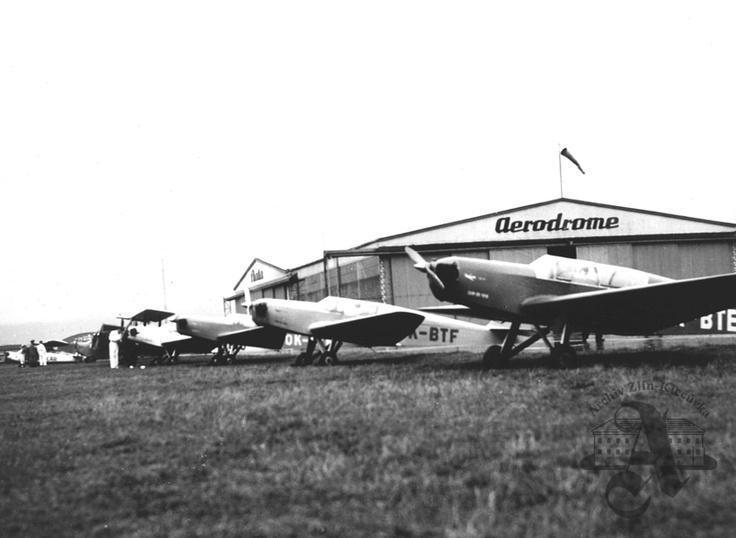 Baťa airport, Otrokovice, 1938