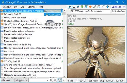 Clip Angel - Herramienta con gran versatilidad para gestionar el portapapeles   Clip Angeles unaherramienta para gestionar el portapapeles de Windowsque llega con unas cuantas herramientas y funciones interesantes. Su diseño es muy simple y directo y permite que vayamos añadiendo elementos copiados a su historial para rescatarlos cuando lo necesitemos.  Con respecto a lo que no es transparente al usuario el programasoporta múltiples formatos: texto plano código HTML documentos RTF e imágenes…