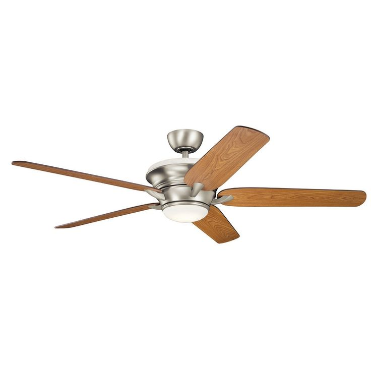 Kichler Lighting Pino Collection 60-inch Brushed LED Ceiling Fan