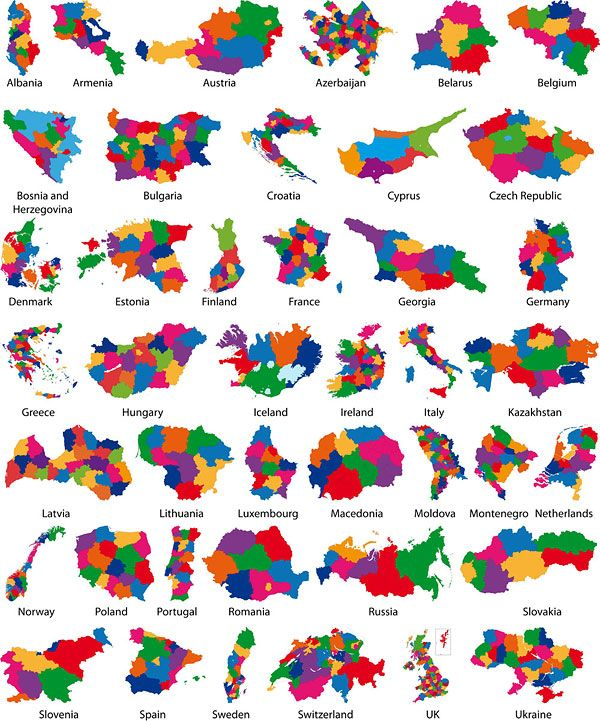 subdivisions of countries