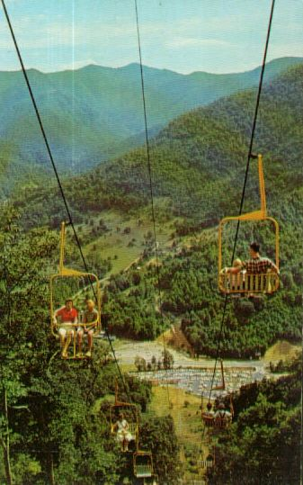 Sliding Rock Maggie Valley NC   ... lift at maggie valley cataloochee ranch and ski area maggie valley n c