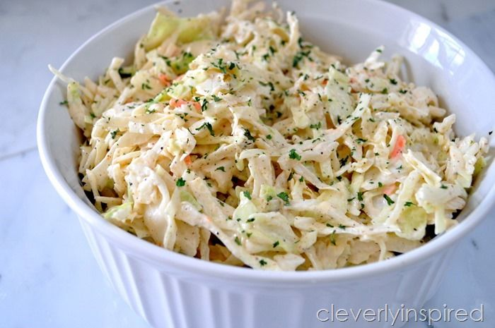 easy homemade coleslaw recipe with mayo | Nom Nom: salad, slaw, & soup ...