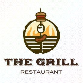 The Grill restaurant logo