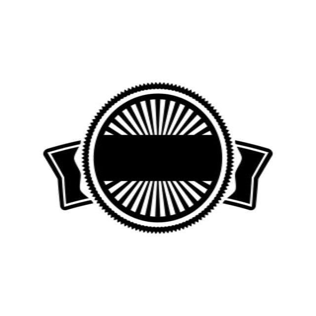 Lencana Logo Kosong Label Vintage Retro Di 2020 Lencana Desain Logo Restoran Retro