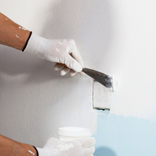 Synergy Paints Acrylic Wall Putty Is An Aqua Based Putty That Augments The Sturdiness As Well As Appearance Of Your Paints It Is O Acrylic Cool Paintings Wall