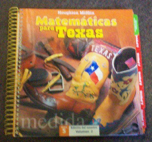 Houghton Mifflin Math Spanish Texas: Teach Edit Vol 2 L 5... https://www.amazon.com/dp/061889151X/ref=cm_sw_r_pi_dp_x_trOCzb36RCCY1