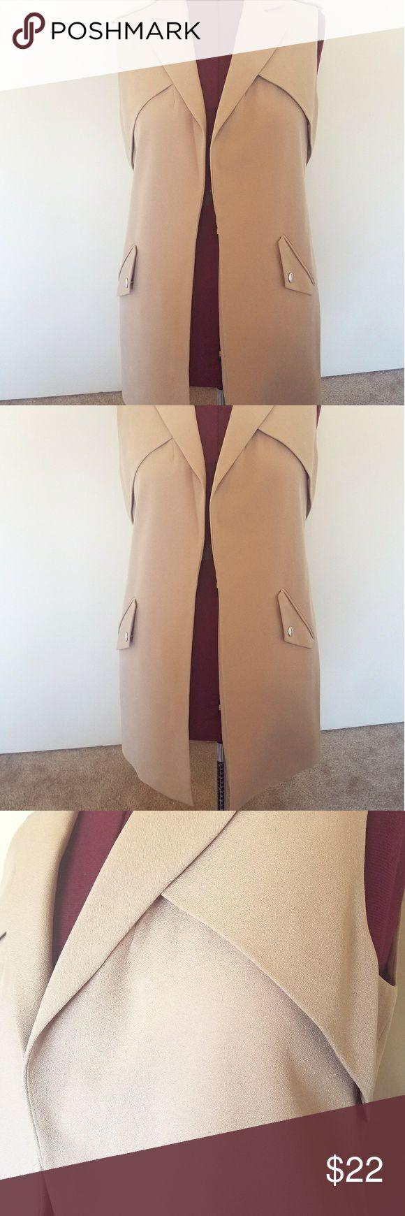 Sleeveless Long Jacket Size 10 NWT New with tag long jacket from Primark. primark Jackets & Coats Vests