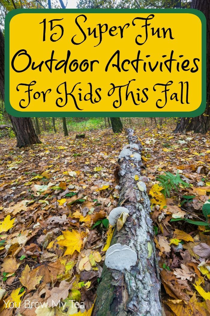 Outdoor activities for kids this fall are easy to come by!  Check out our list…