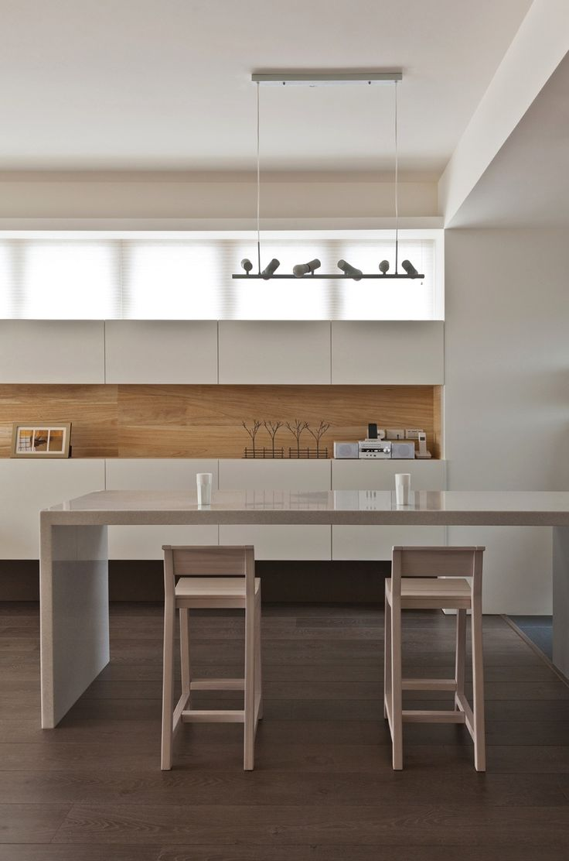Kitchen backsplash // Organic And Minimalist Interior Inspirations From The Far East