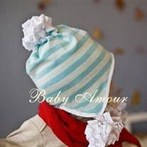 100% cotton! It is super soft, super comfy and makes for easy wear and washing. Keep your little one warm for daily use or this hat would make an awesome baby shower gift too.  *Size newborn, 3-6 months old, 6-12mth. *From smoke free and pet free environment *Wash with laundry bag. *Enjoy the...
