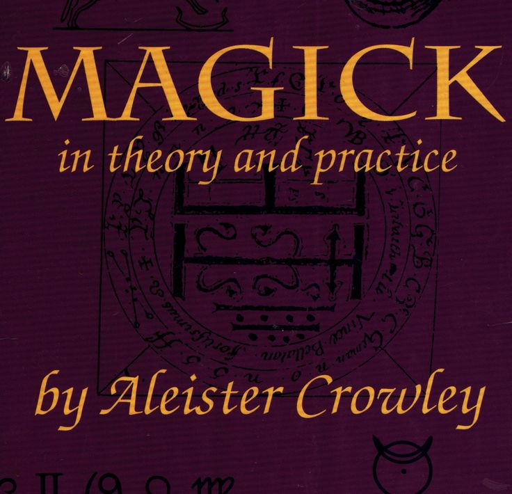 1991 Magick in Theory and Practice by Aleister Crowley Rare Edition by UpOnHill61 on Etsy