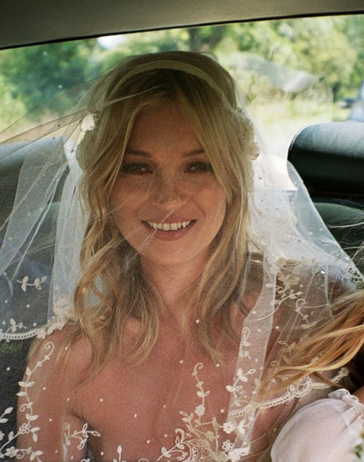 kate moss wedding, by Mario Testino 2011