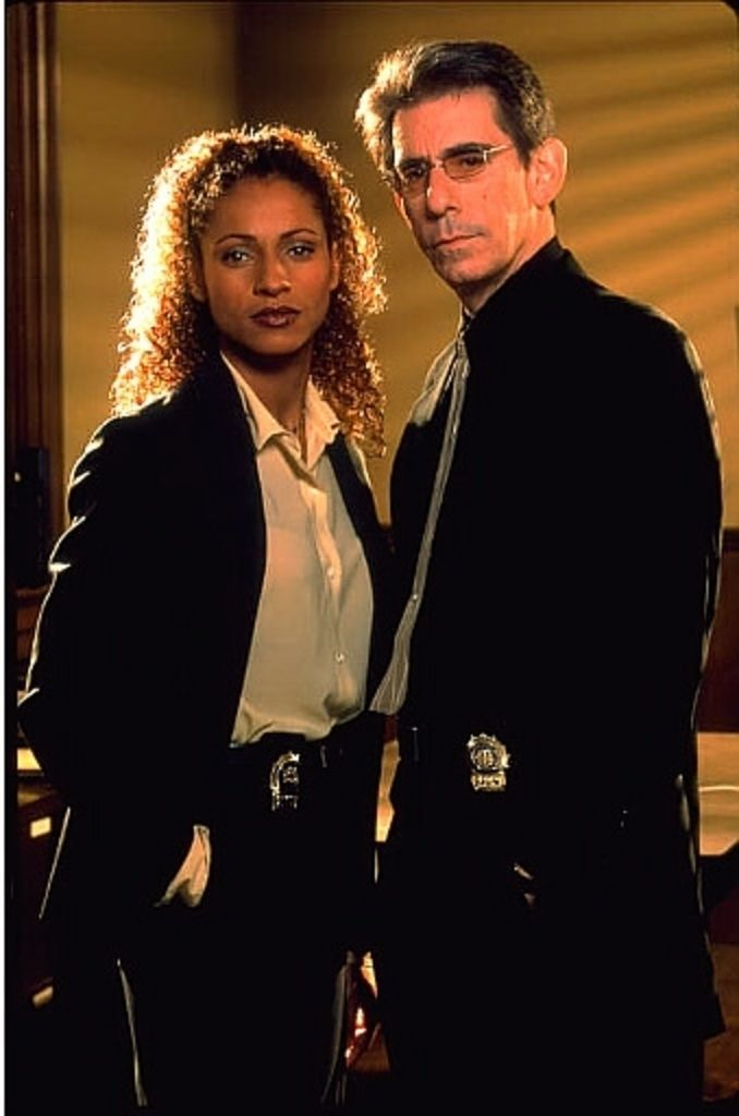 Detective Monique Jefferies and John Munch