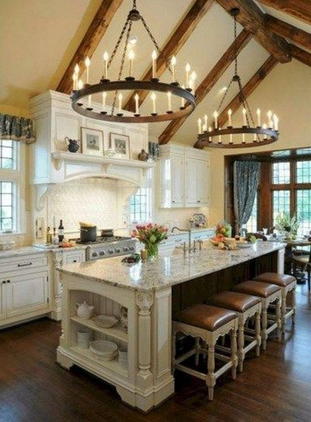 35 Awesome Most Amazing Rustic Farmhouse Kitchen Design Country