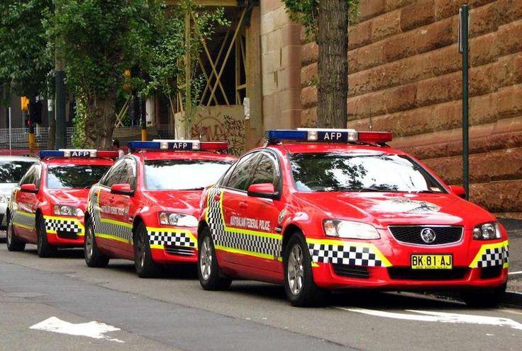 Vehículos de la Policía Federal de Australia.