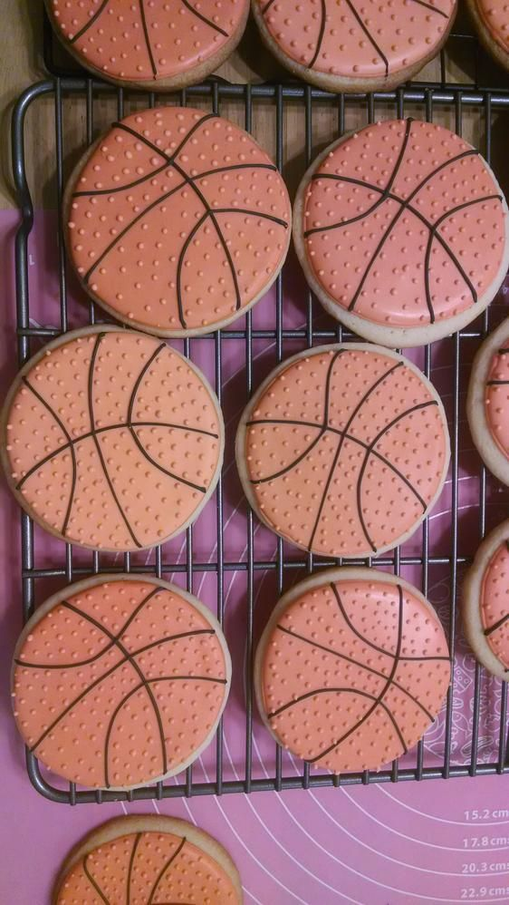 basketball cookies | Cookie Connection