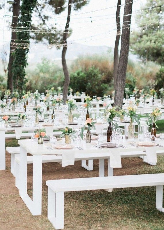 Diy Backyard Summer Wedding In Athens Greece