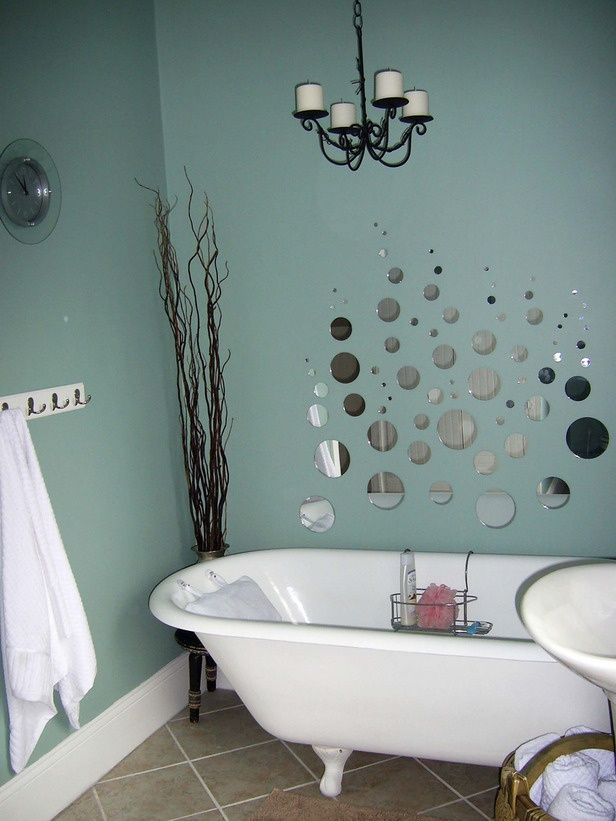 A Touch Of Whimsy RMS User Ikf Ia Used Bubble Mirrors Add Whimsical Design  Detail To Change Her Bathroom Which Created A Soothing, Imaginative Space.