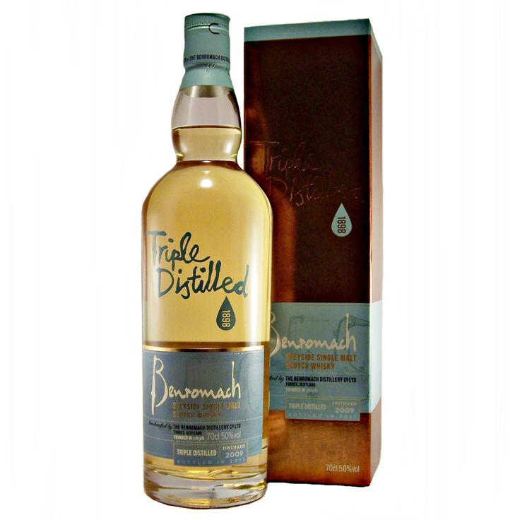 Benromach Triple Distilled 2009 vintage Single Malt Whisky available to buy online at specialist whisky shop whiskys.co.uk Stamford Bridge York