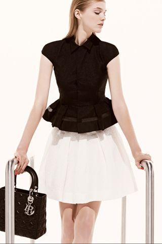 Christian Dior Resort 2013 // red carpet prediction: emma stone