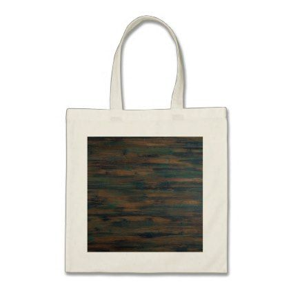 Beautifully Patterned Stained Wood Tote Bag Pattern Sample Design