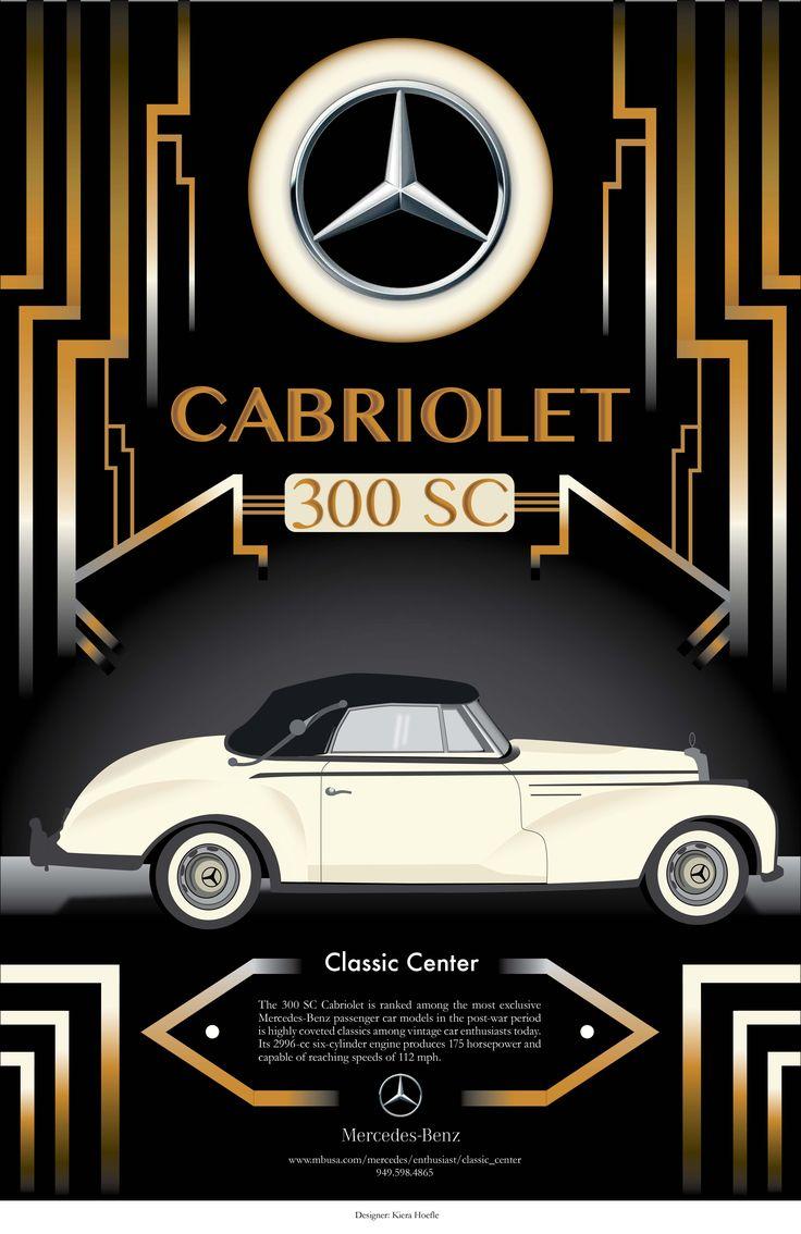 32 best Vintage Mercedes-Benz poster designs images on Pinterest ...