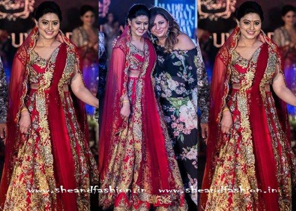 Sneha madras fashion show