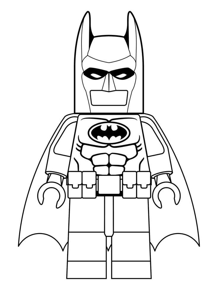 Stampa E Colora Disney Ispiratore Disegno 1 Di Lego Batman