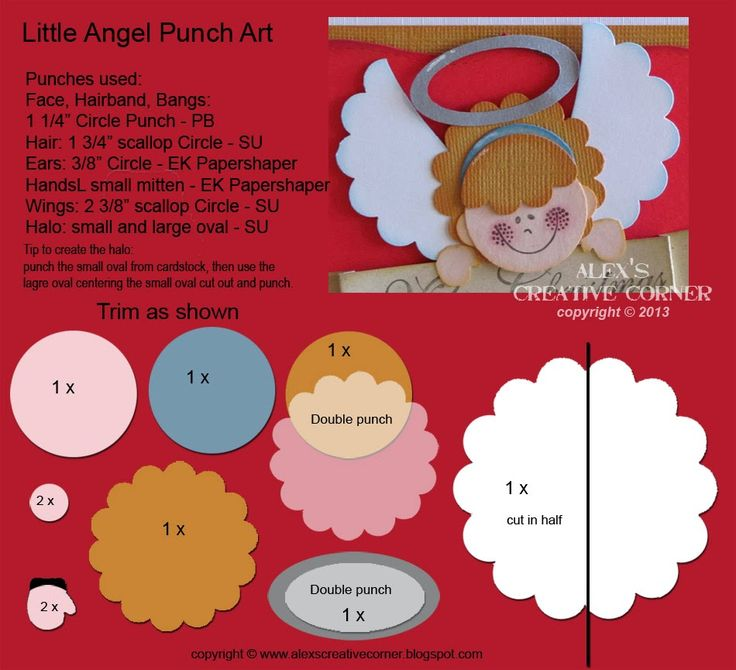 Alex's Creative Corner: Little Angel Card