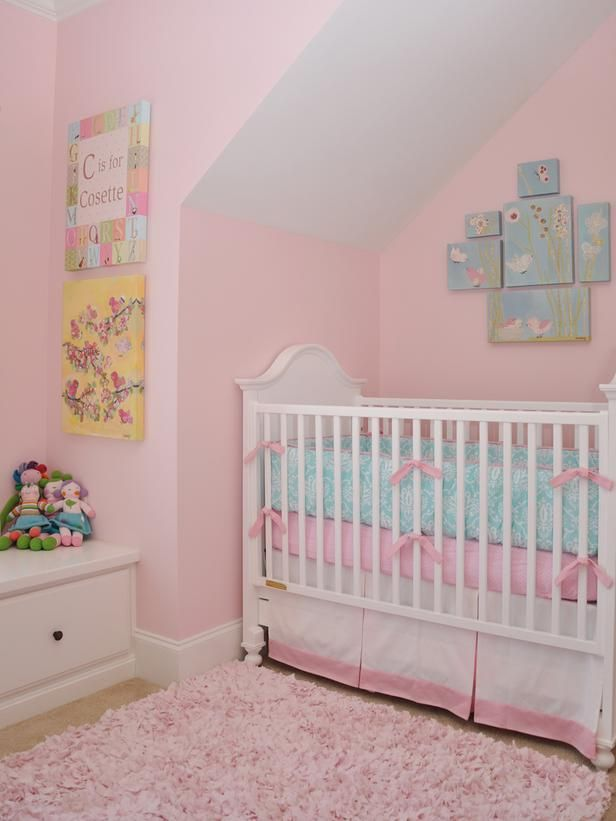 Best Pink And Blue Images On Pinterest Nursery Ideas - Light pink nursery decor
