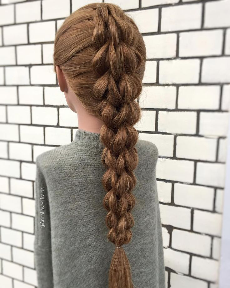 So – I promise, this is the last #pullthroughbraid for this week! But …, #this #last #pullthroughbraid #promote #week, '# fashionha …