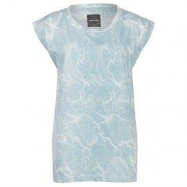 Kleur bekennen: pastel. Deze frisse, lichtblauwe pasteltint maakt je zomerse outfit helemaal compleet. Combineer dit t-shirt met kleuren als licht grijs en ecru en je bent klaar voor de zomer. Ontdek meer: http://www.kledingvinder.nl/blog/kleur-bekennen-pastel