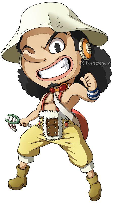 One Piece: Usopp Chibi by Kanokawa on deviantART