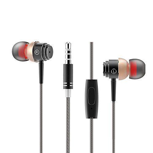 Black Friday Sale - Premium Hifi Ecouteurs Intra-auriculaires Stéréo ELE Casque Isolating avec Précision Bass, Embrouillement Libre,…