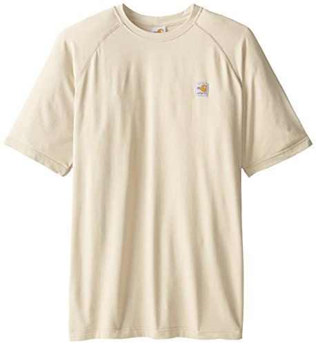 Carhartt Men's Big & Tall Flame Resistant Force Short Sleeve T-Shirt:   This easy-wearing, hard-working 5.5-ounce, 48% mod acrylic/48% tencel/4% spandex T-shirt wicks away sweat for comfort and fights odors. • FastDry technology wicks away sweat for comfort • Fights odors • Stretchable, spandex-reinforced rib-knit fabric for comfort • Stretchable, spandex-reinforced rib-knit crewneck • Side-seamed construction minimizes twisting • Square hem • HRC 1 label sewn on side seam • Meets the ...