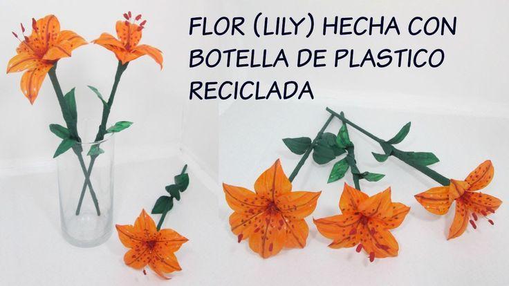 17 best images about botellas plastico on pinterest pets - Flores de plastico ...