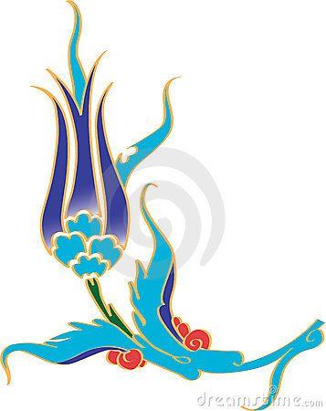 Ottoman Tulip Flower
