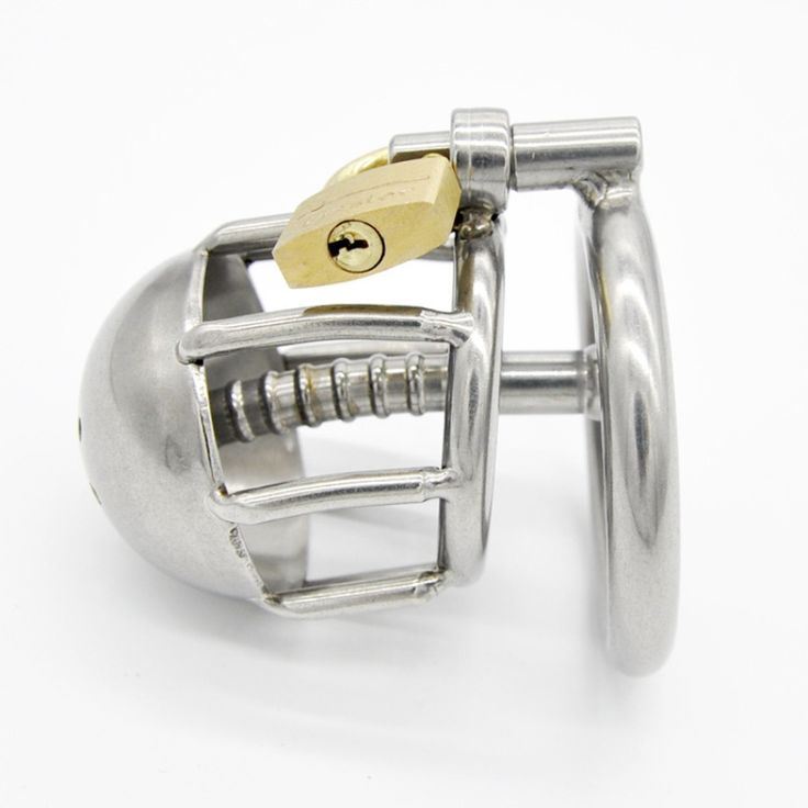 23.92$  Watch now - http://alifdl.shopchina.info/go.php?t=32788480477 - New Chastity Cage with Catheter Male Chastity Cock Cage Penis Ring Urethral Wall Bondage SM Sex Toys for Men Penis Device G125  #shopstyle