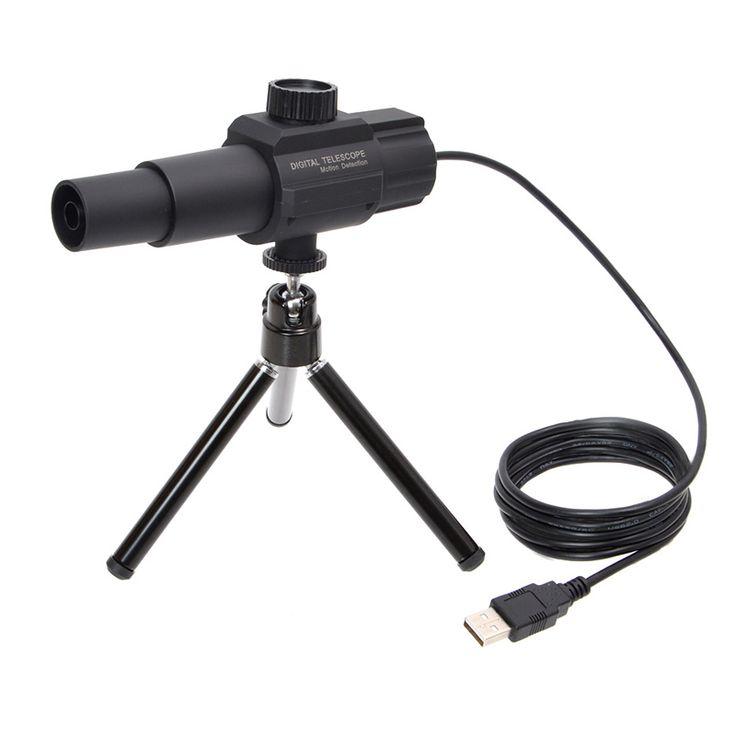 Androidスマホでもパソコンでも使えるUSB接続の70倍超望遠カメラ