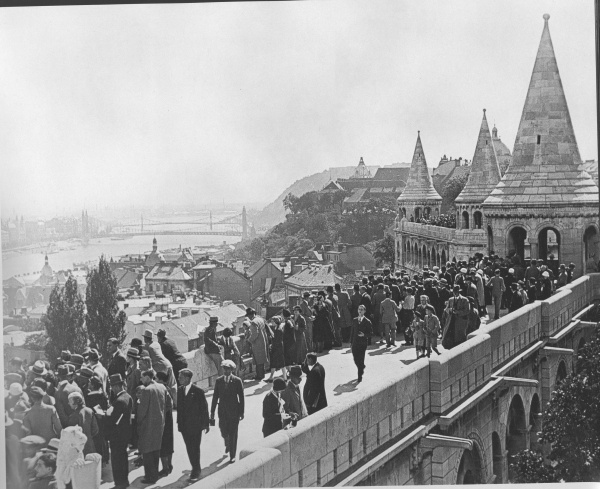 On the Fishermen's Bastion – 1936 - Budapest