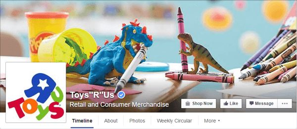 facebook cover photo toys r us