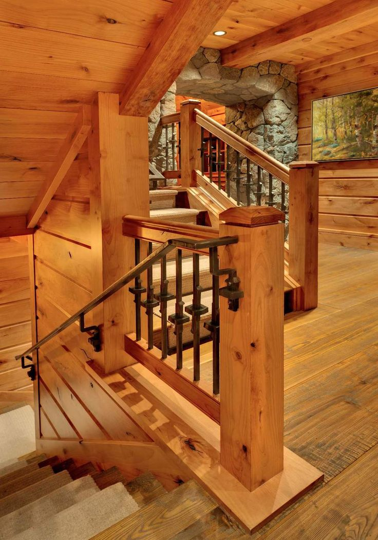Best 103 Best Cabin Stairs And Railing Images On Pinterest 400 x 300