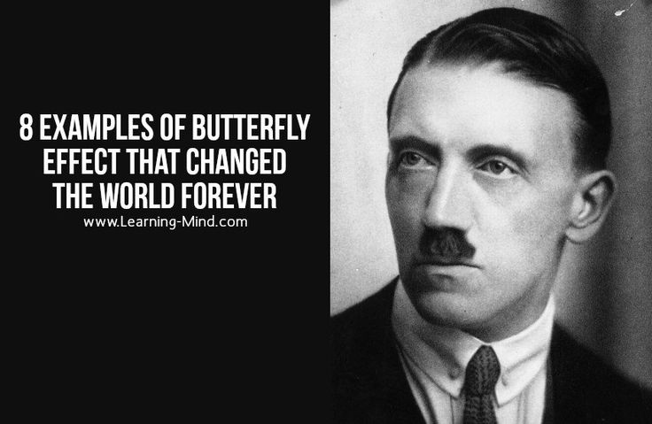 8 Examples of Butterfly Effect That Changed the World Forever | via @learningmindcom | learning-mind.com