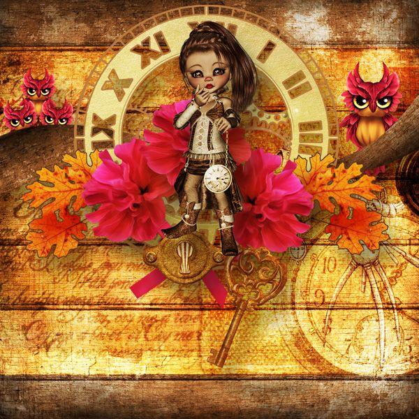 Layout by dkane. Kit: Magic Steampunk Dream by KittyScrap http://scrapbird.com/designers-c-73/k-m-c-73_516/kittyscrap-c-73_516_253/kit-magic-steampunk-dream-by-kittyscrap-p-18301.html